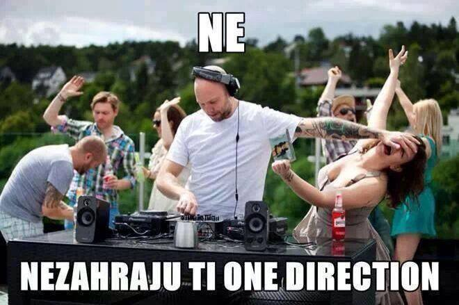 Ne, nezahraju ti One Direction