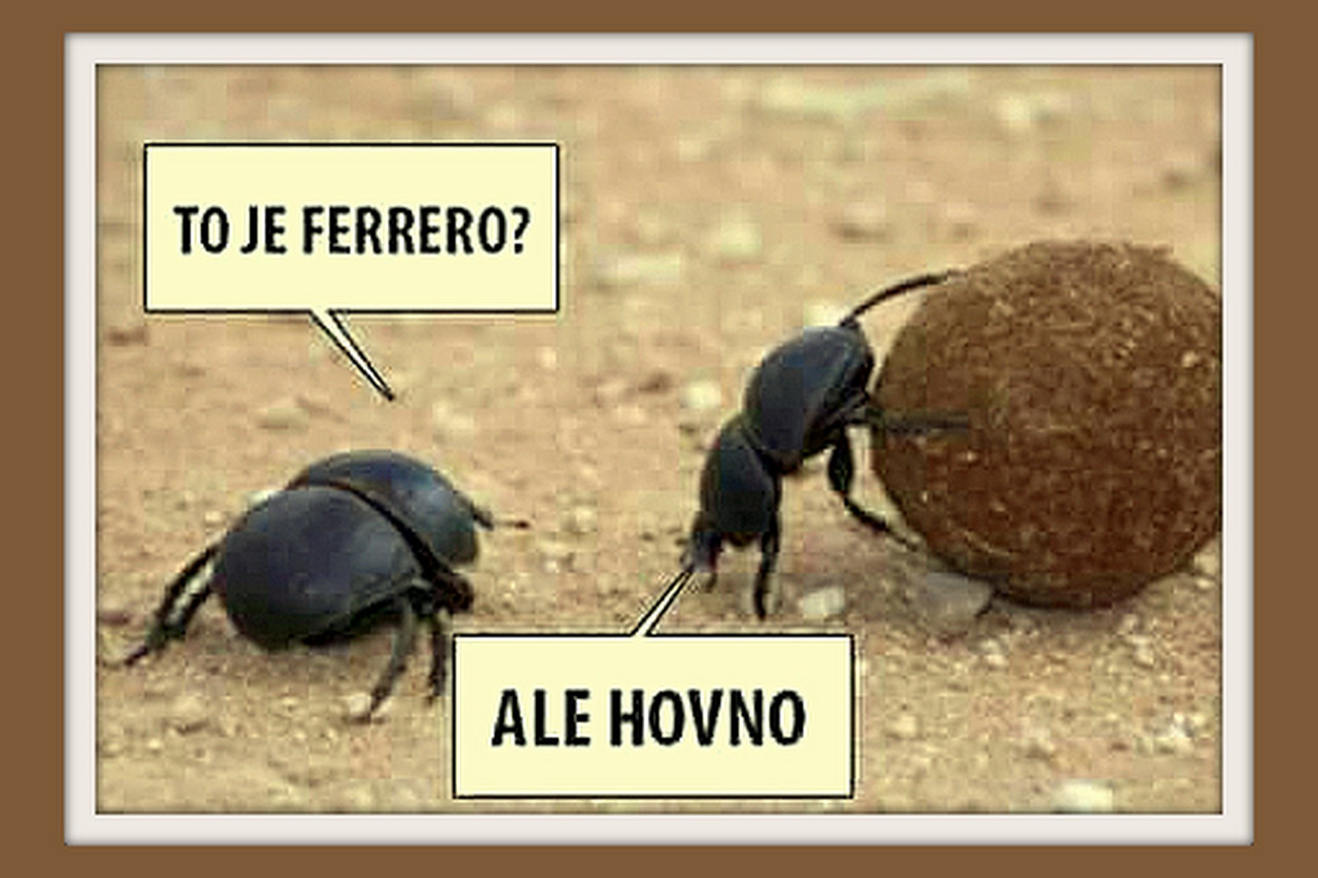 To je Fererro?